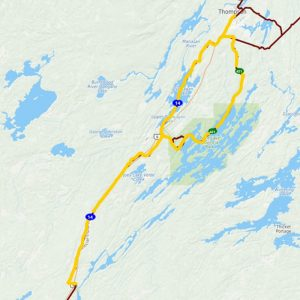 Thompson to Pisew Falls Day Trip – 168km